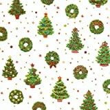Entertaining with Caspari Continuous Gift Wrapping Paper, Deck the Halls, 8-Feet, 1-Roll, Health Care Stuffs