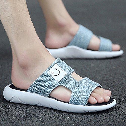 XIAOLIN Zapatillas de playa de los hombres de verano Sandalias Versión coreana de la tendencia de la personalidad de ocio al aire libre (Múltiples colores disponibles) (Tamaño opcional) ( Color : 05 , 03
