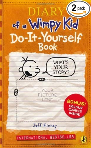 Amazon diary of a wimpy kid do it yourself book by kinney diary of a wimpy kid do it yourself book by kinney jeff solutioingenieria