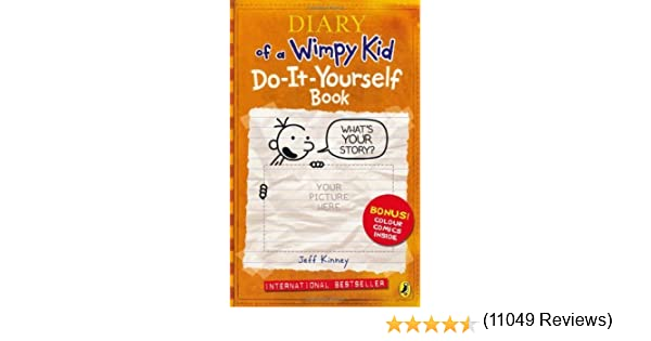 Amazon diary of a wimpy kid do it yourself book by kinney amazon diary of a wimpy kid do it yourself book by kinney jeff 2009 paperback jeff kinney health personal care solutioingenieria