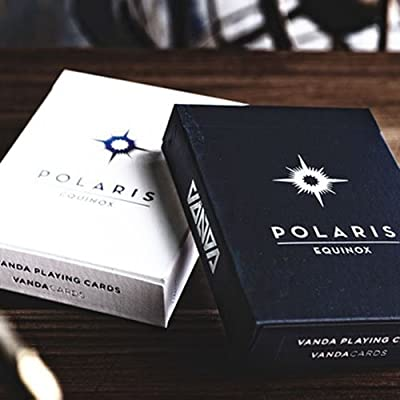 SOLOMAGIA Polaris Equinox Dark Edition Playing Cards: Amazon.es ...