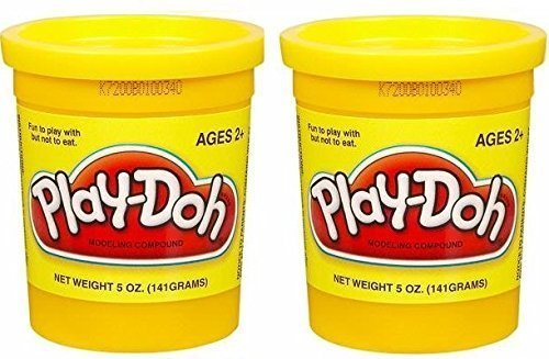 Yellow Compound (PLAY-DOH Compound Yellow - Two, 5 oz Cans (10 oz))