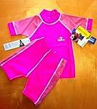 UV Blocking Swimsuit-2 pc Hawaiian pink