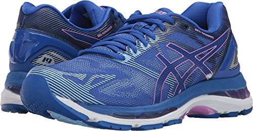ASICS Women's Gel-Nimbus 19 Running Shoe, Blue Purple/Violet/Airy Blue, 8 Medium US by ASICS