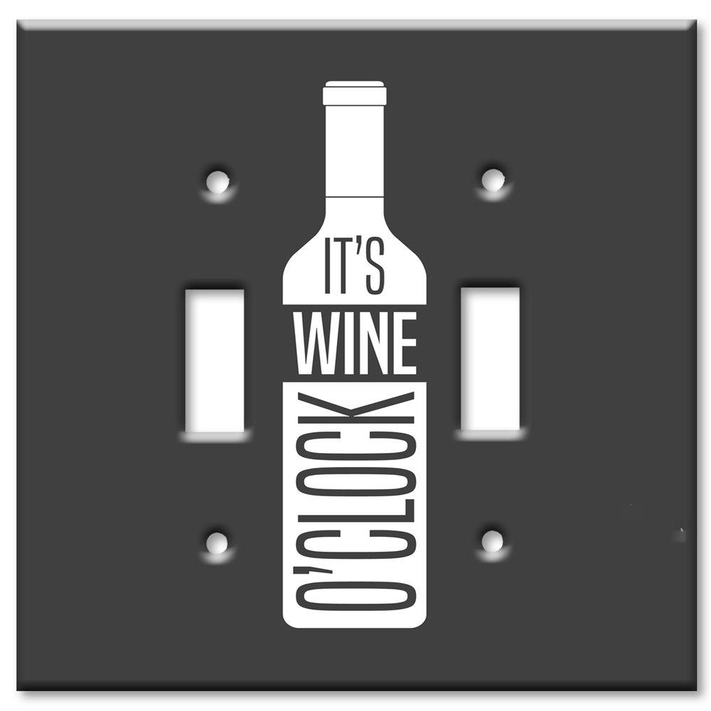 【人気沸騰】 アートプレートブランドOversizeスイッチ/壁プレート Clock – Wine O Clock 8724-D-oversize マルチカラー 8724-D-oversize B071RXP4ZM B071RXP4ZM ダブルトグル, 振袖専科「みなほ」:421e1735 --- a0267596.xsph.ru