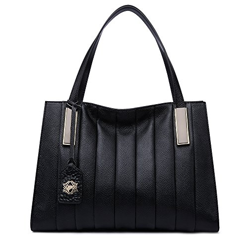 ZOOLER Genuine Leather Handbags for Women Shoulder Bags Top Handle Bag Tote Purse - 5.8a Top Handle