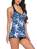 Sheshow Womens Two Piece Bathing Suits Floral