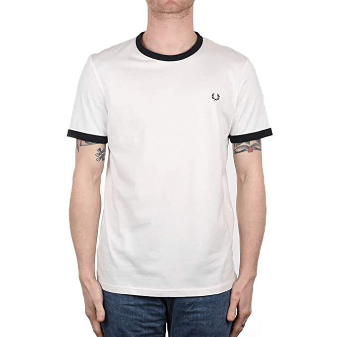 3eba4788a0 Fred Perry Uomo Ringer T-Shirt