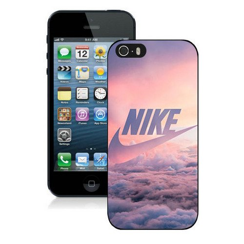 pvmeche Just Do it Nike logo image Custom iphone 5 5S SE TPU Individualized Hard Case black rob style che18025d