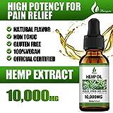 (10,000mg) Organic Hemp Oil Extract - 4 Pack