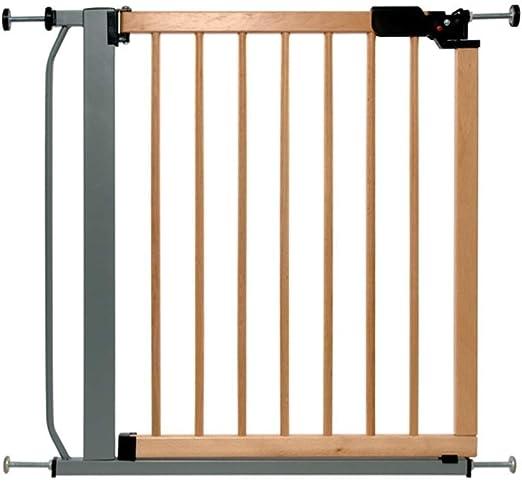 PNFP Bebé Parque infantil de madera maciza Puerta de seguridad for niños Cerca de la escalera