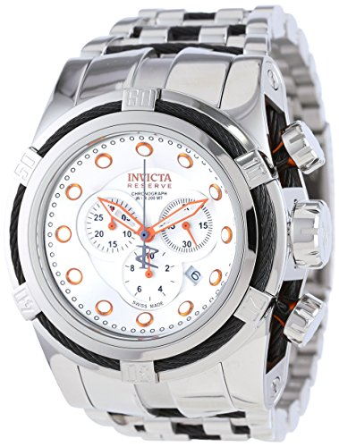 invicta-mens-14065-bolt-reserve-chronograph-silver-dial-stainless-steel-watch