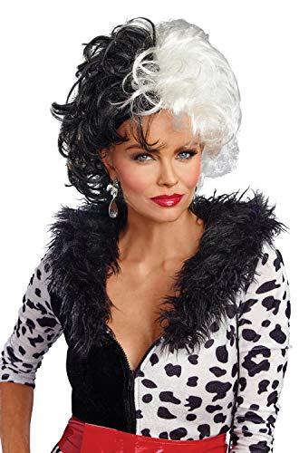 Dalmatian Diva Wig Costume Accessory ()