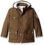Fjallraven Kids Greenland Winter Jacket, 122, Dark Olive