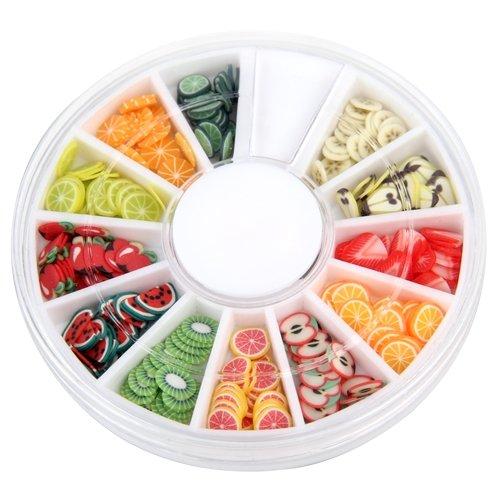 1000pcs decoración forma pa uña UV GEL Acrylic: Amazon.es: Bricolaje y herramientas