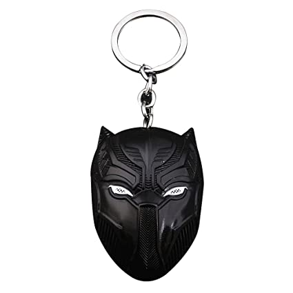 Black Panther Llavero Marvel Avengers -TChalla Keychain ...