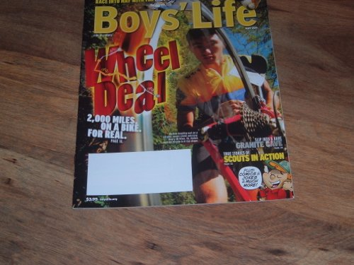 Boys' Life Magazine (Wheel Deal 2,000 miles on a bike for real, May 2011) ()