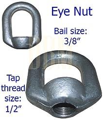 10 PCS Eye Nut Drop Forged Carbon Steel ...
