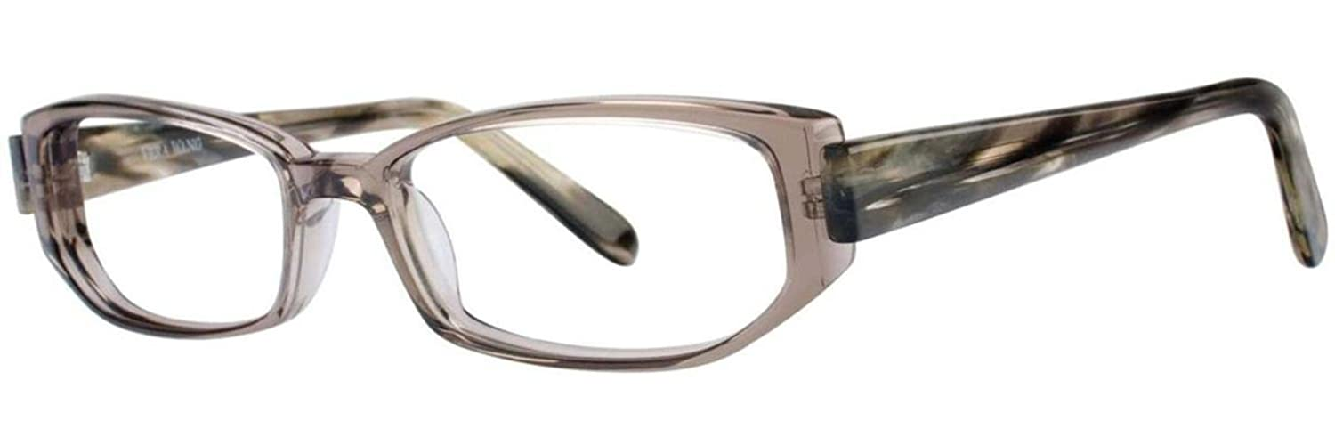 VERA WANG Eyeglasses V184 Grey Crystal 50MM