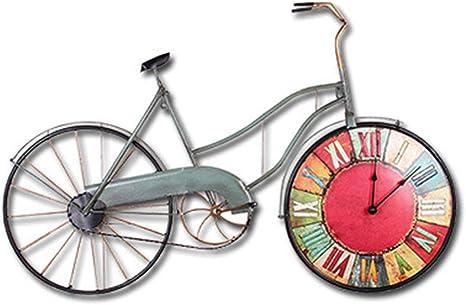 XIAOMIAO Relojes de Pared Vintage Decoración Creativo ...