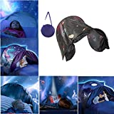 Kids Pop Up Night Sky Bed Canopy Childrens Comfort Dome Tent Dream Screens