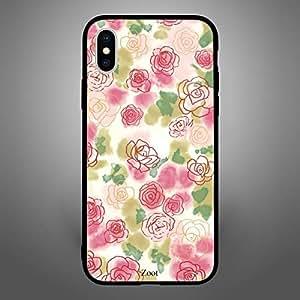 iPhone X Roses Sketch