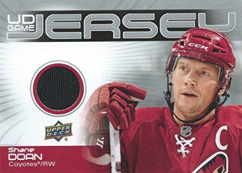(HCW) 2010-11 Upper Deck Game Jersey SHANE DOAN UD NHL Material Hockey (Ahl Hockey Jerseys)