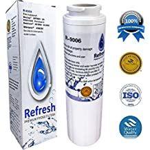 Refresh UKF8001 for Maytag PUR FILTER 4 - Whirlpool EDR4RXD1, Everydrop Filter 4, UKF8001AXX-750, 4396395, PuriClean II, and Kenmore Filters 469006, 46 9006, 9006