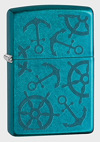 Zippo Nautical Cerulean Pocket Lighter