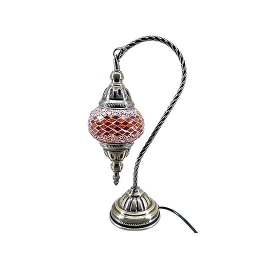Lámpara Turca Estilo Otomano Marroquí Mosaico Iluminación Cisne ...