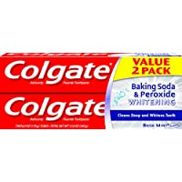 2-Pack Colgate Baking Soda and Peroxide Toothpaste