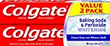 Colgate Baking Soda and Peroxide Whitening Toothpaste - 6 ounce (2 Count)
