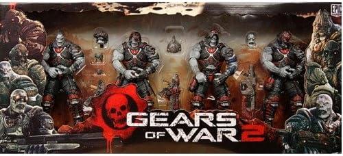 NECA – Gears of War Locust Hive Set de 4 Figuras, 634482520918 ...