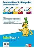 MiniMax / Schülerpaket 4. Schuljahr Verbrauchsmaterial: 4 Hefte