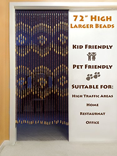 Amazon.com: BeadedString Wood Beaded Curtain-31 Strands-72\