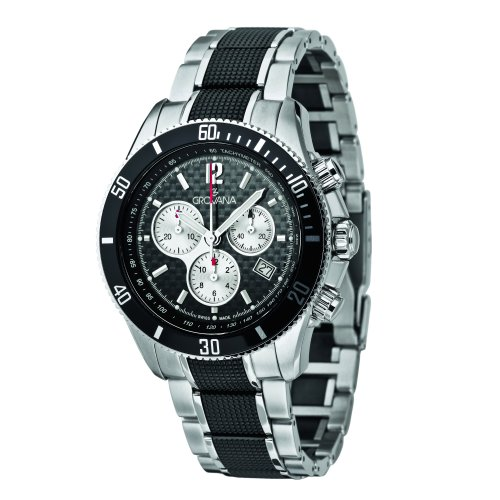 Grovana-Mens-Sport-Swiss-Quartz-Stainless-Steel-Casual-Watch-ColorSilver-Toned-Model-1615-9177