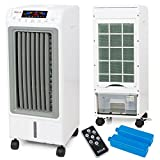 Portable Evaporative Air Cooler Tower Fan Cooling Ionizer Humidifier LCD Display +Remote offers