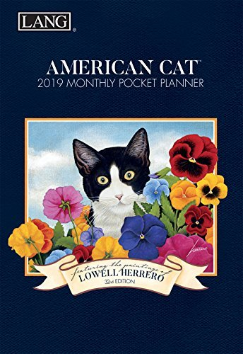 The LANG Companies American Cat 2019 Monthly Pocket Planner (Lowell Herrero American Cat)
