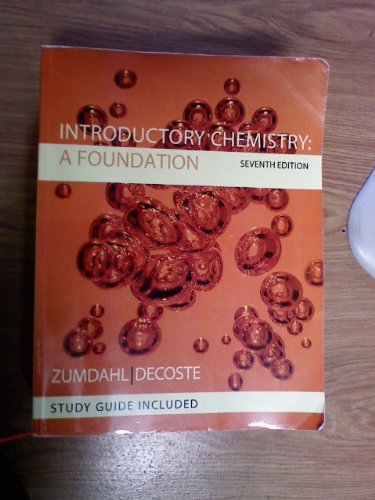 Title: Intro.Chemistry:Foundation-W/S