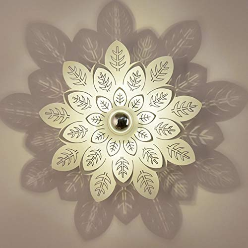(Xungzl Shadow Projection Lamp Nordic Modern Minimalist Creative Fabric Hotel Aisle Balcony LED Bedroom Bedside Lamp Wall Lamp )
