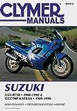 Suzuki GSXR750/GSX750F Katn, 1988-1996, Clymer Publications Staff and Penton Staff, 0892877634