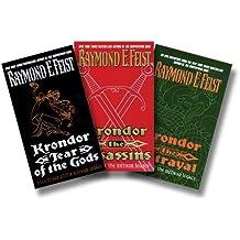 Krondor Riftwar Trilogy: Krondor the Betrayal, Krondor the Assassins, Krondor Tear of the Gods