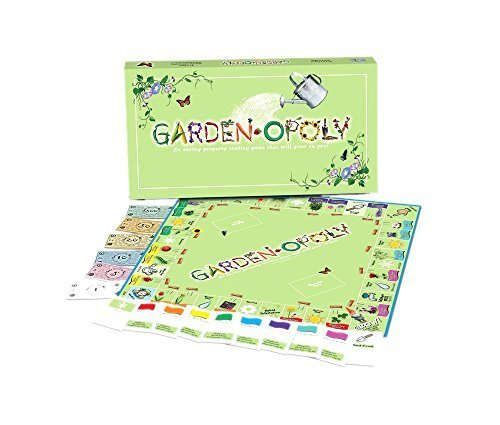 Late For The Sky Childrens Board Games Garden-Opoly by Late for the (Garden Opoly Game)