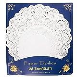 HAKSEN 36 PCS Paper Lace Doilies Combo,Pack 12 each
