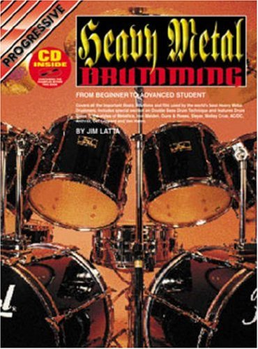 (CP18375 - Progressive Heavy Metal Drums - Book and CD)
