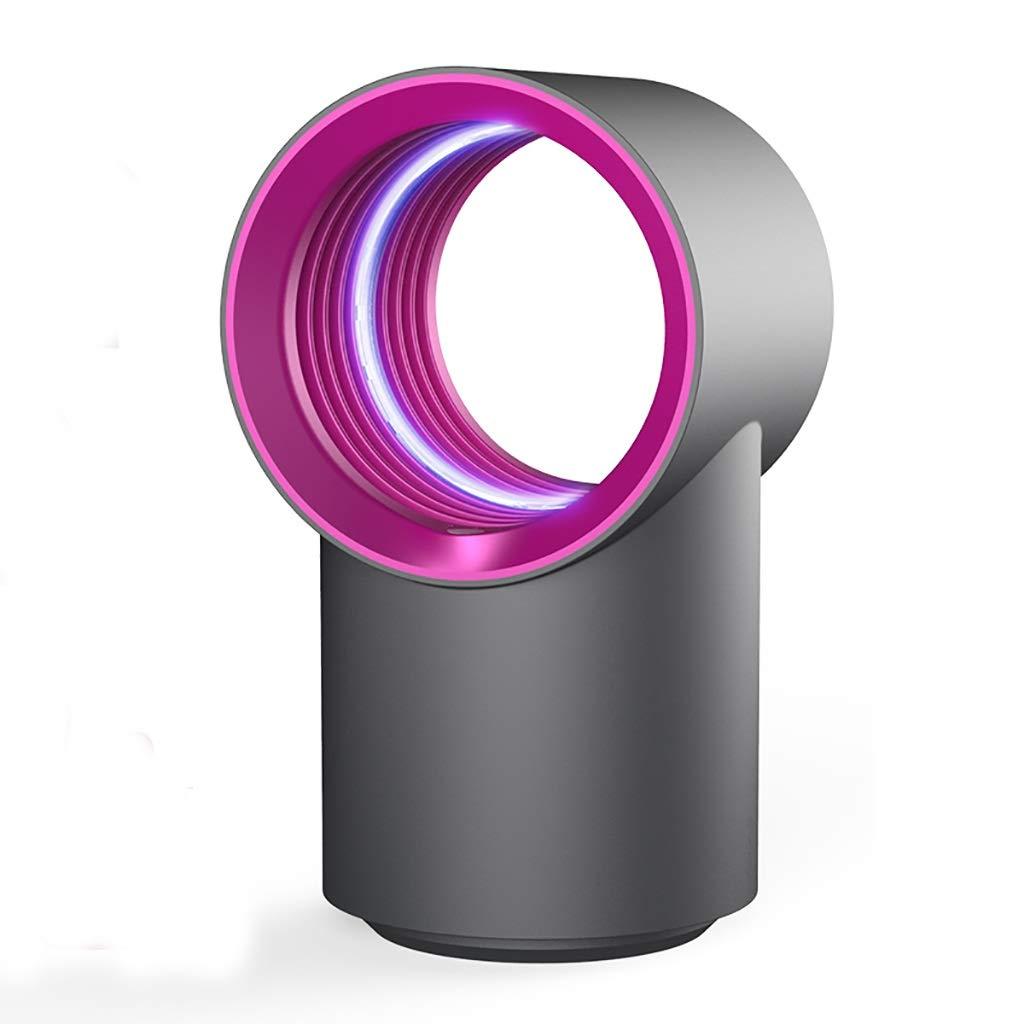 蚊ランプ LED昆虫捕獲器、USB電源、超静電性昆虫キラー、無化学蚊キラー、屋内用家庭用光触媒UVライト、多方向ライト 蚊ランプ昆虫飛ぶ吸入器キャッチャー (色 : 赤) B07R1TV885 赤