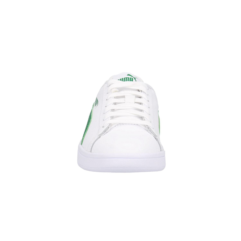 Smash V2 L, Sneakers Basses Mixte Adulte, Blanc White-Amazon Green 03, 42.5 EUPuma