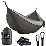 owl rain gear - Double Portable Camping Hammock & Straps – Parachute Hammock Tree Straps Set with Max 1000 lbs Breaking Capacity Included – FREE Lightweight Carabiners For Backpacking, Camping, Hiking, Travel, Beach,