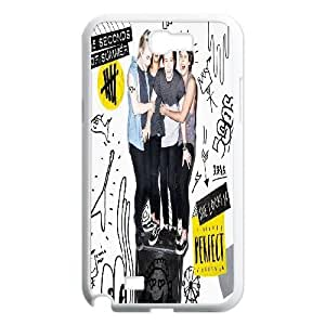 Samsung Galaxy Note 2 N7100 Phone Cases White 5 Seconds Of Summer CXS064336