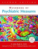Handbook of Psychiatric Measures [With CDROM]